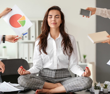 Meditation at Workplace
