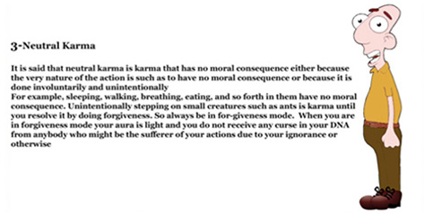 TYPES OF KARMA